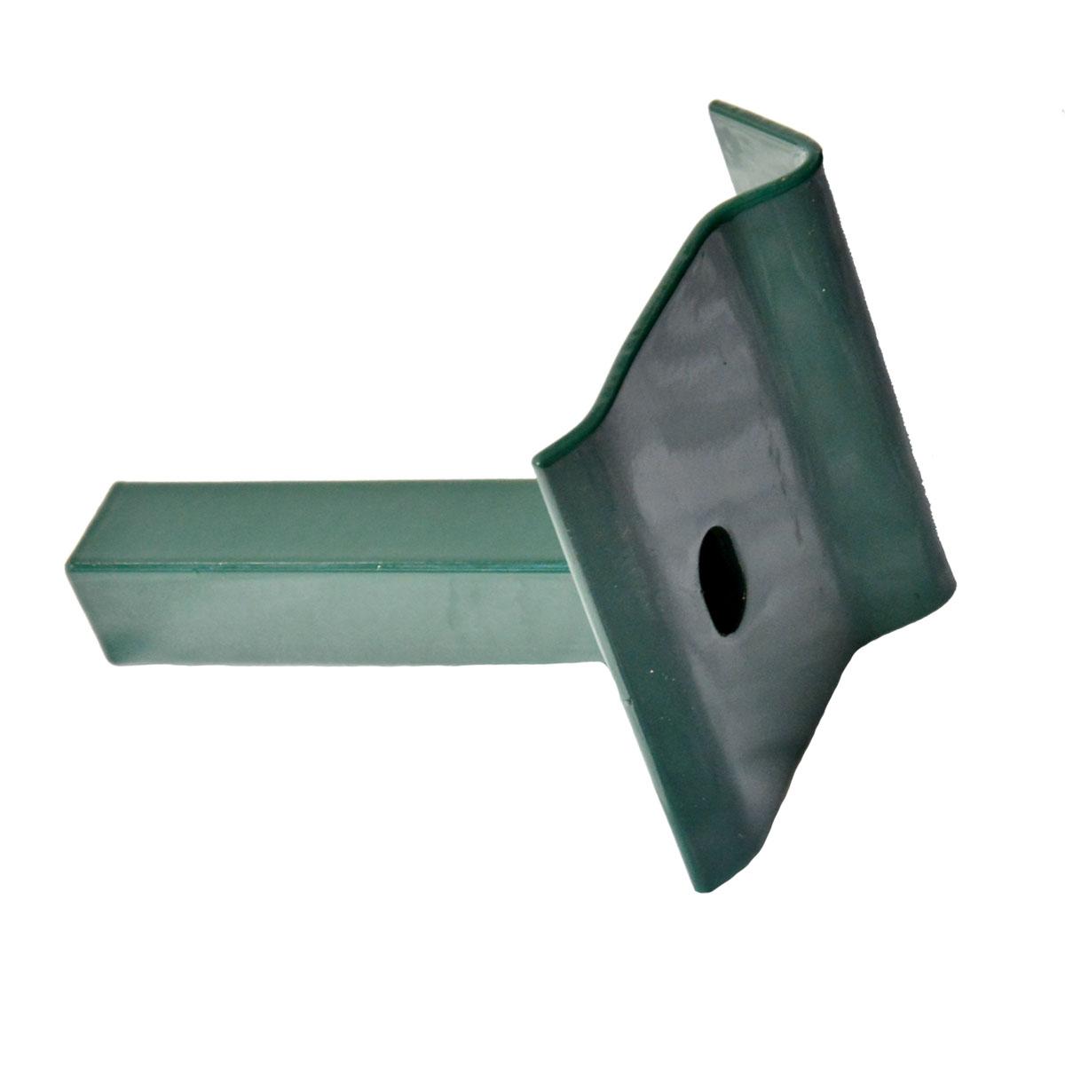 Auflaufbock grün Anschlag für Tore passend zum Bodenschieber Torstopper Stopper