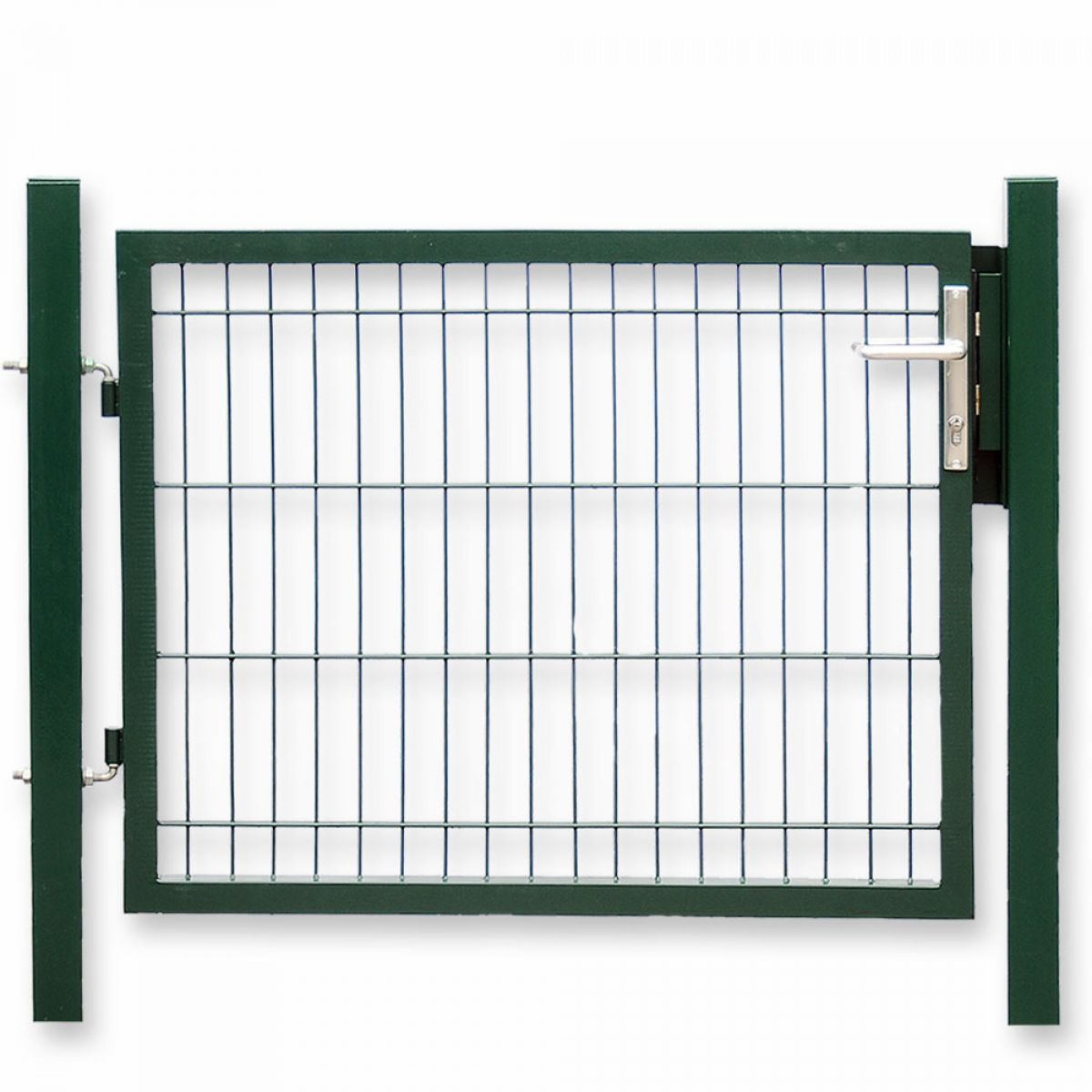 Zaun Nagel Moderner Sichtschutz Doppelstabmattenzaun