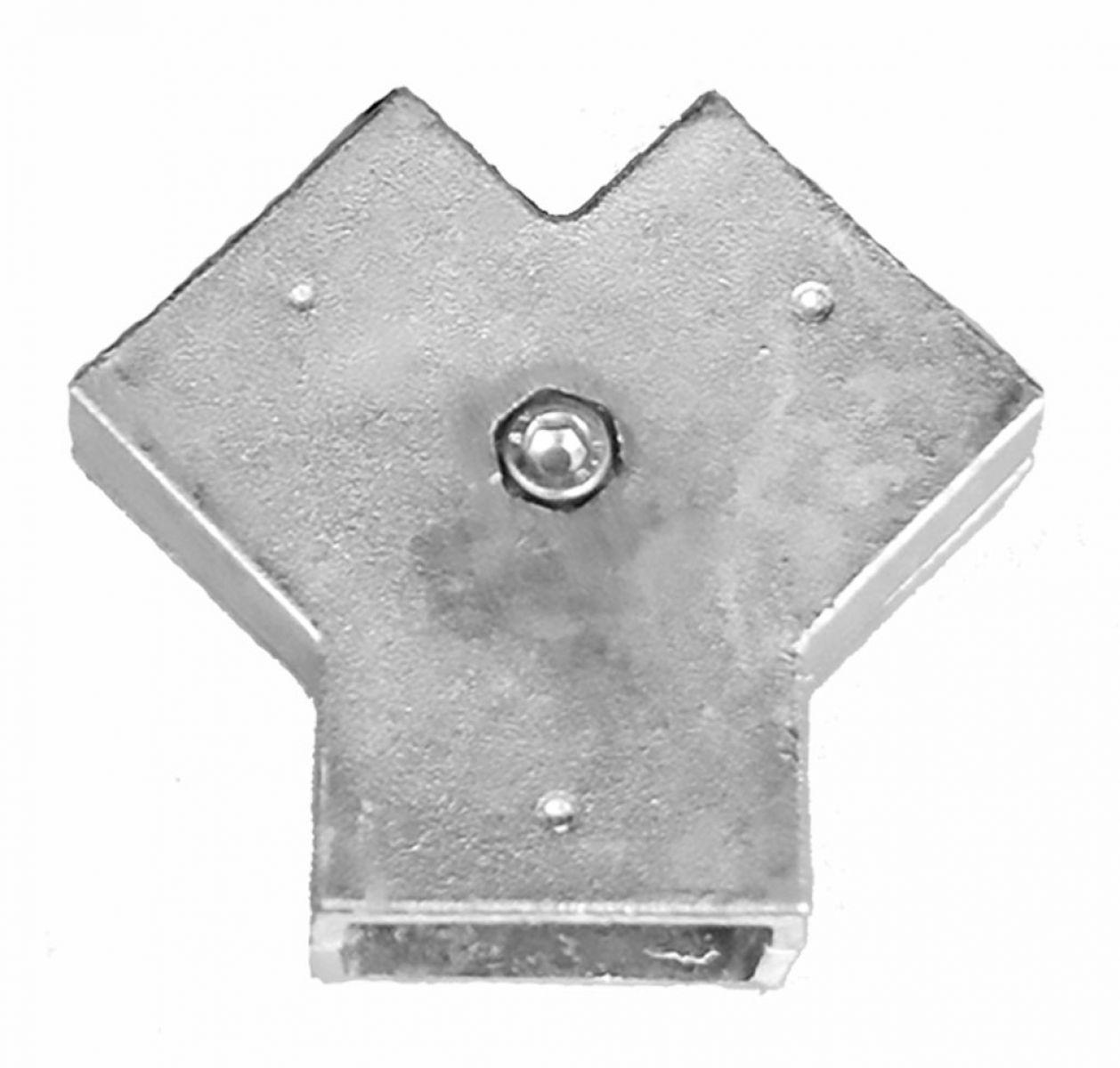 Zaun Nagel Doppelstabzaun übersteigschutz Zaunerhöhung
