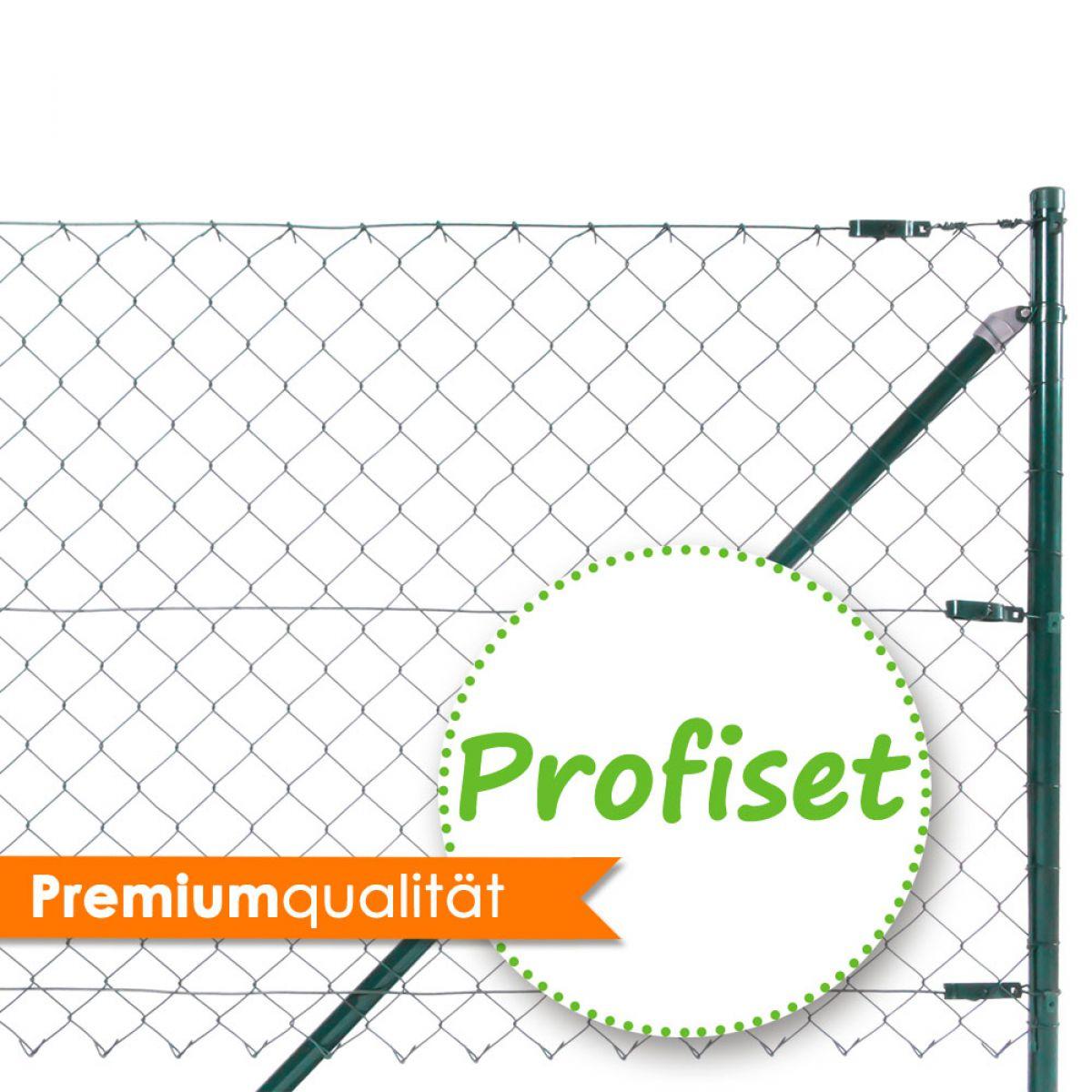 Zaun-Nagel - Maschendrahtzaun Komplettpaket Profiset