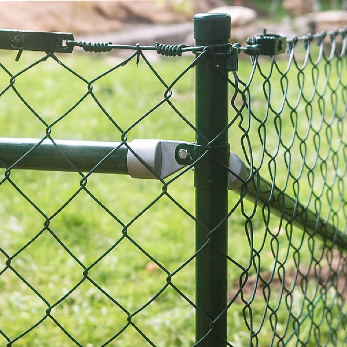 Zaun-Nagel - Einschlagpfosten mit angeschweißter Bodenhülse