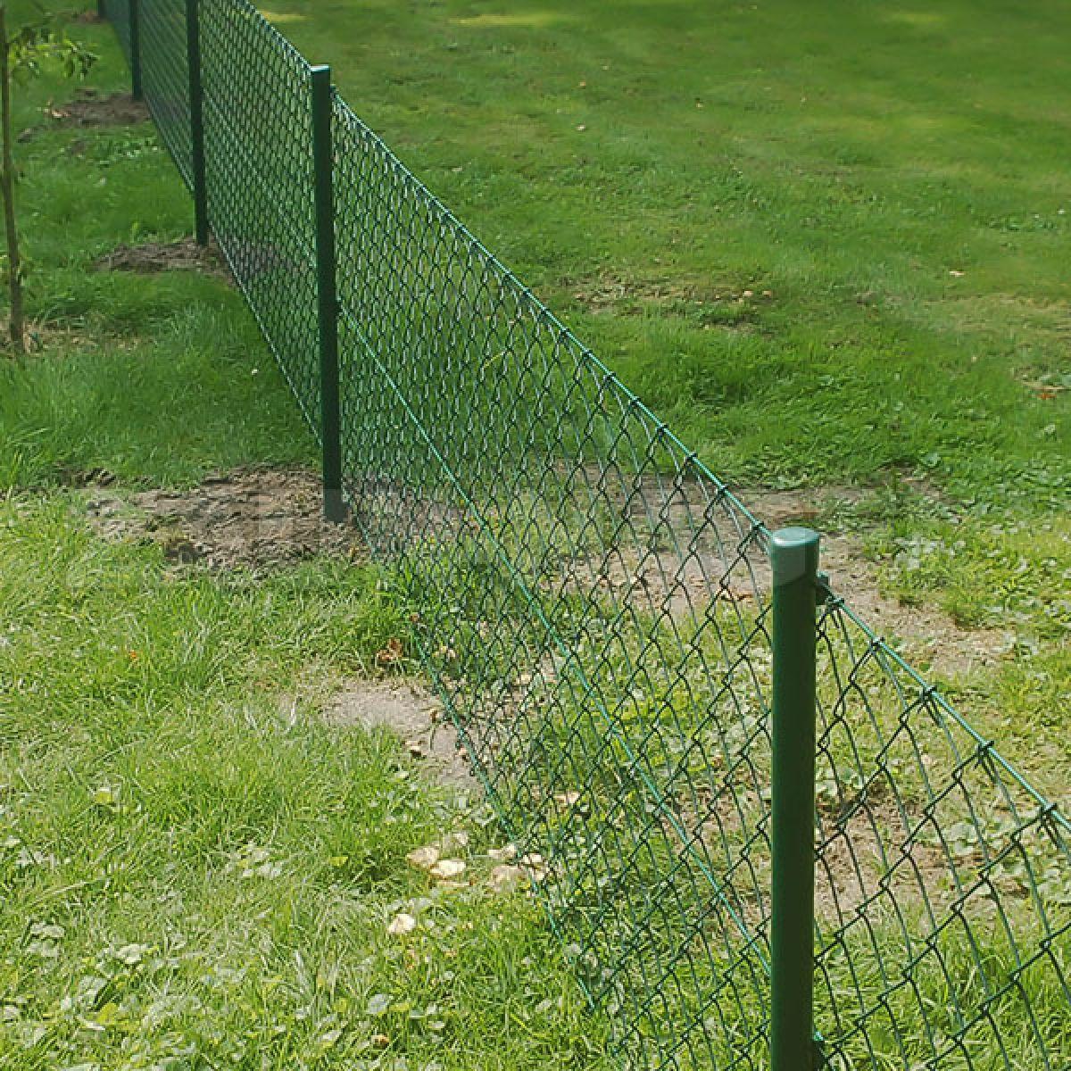 Zaun Nagel Einschlagpfosten mit angeschweißter Bodenhülse