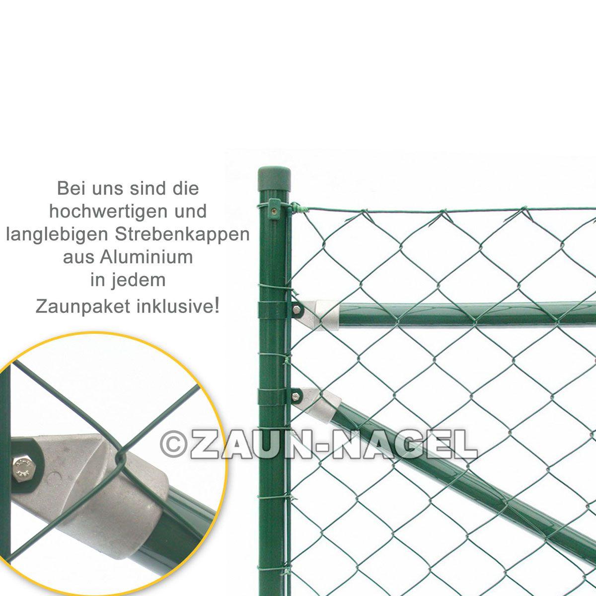 Zaun-Nagel - Maschendrahtzaun Set inkl. Lochspaten