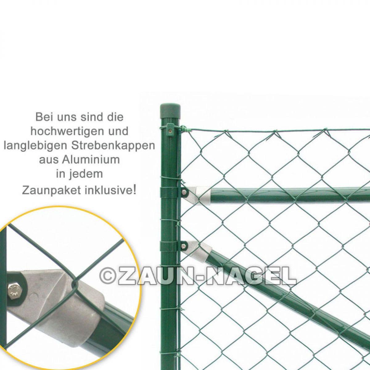 Maschendraht ANTHRAZIT Zaun Set Zaunset Zaunpaket Gartenzäune Drahtzaun günstig