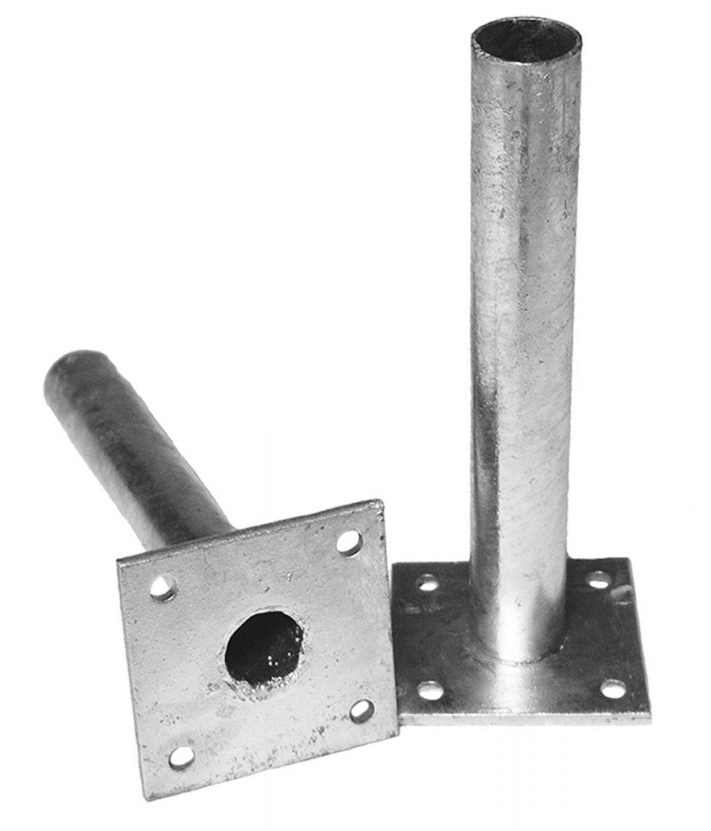 zaun-nagel - einschlagbodenhülse zum maschendrahtzaun