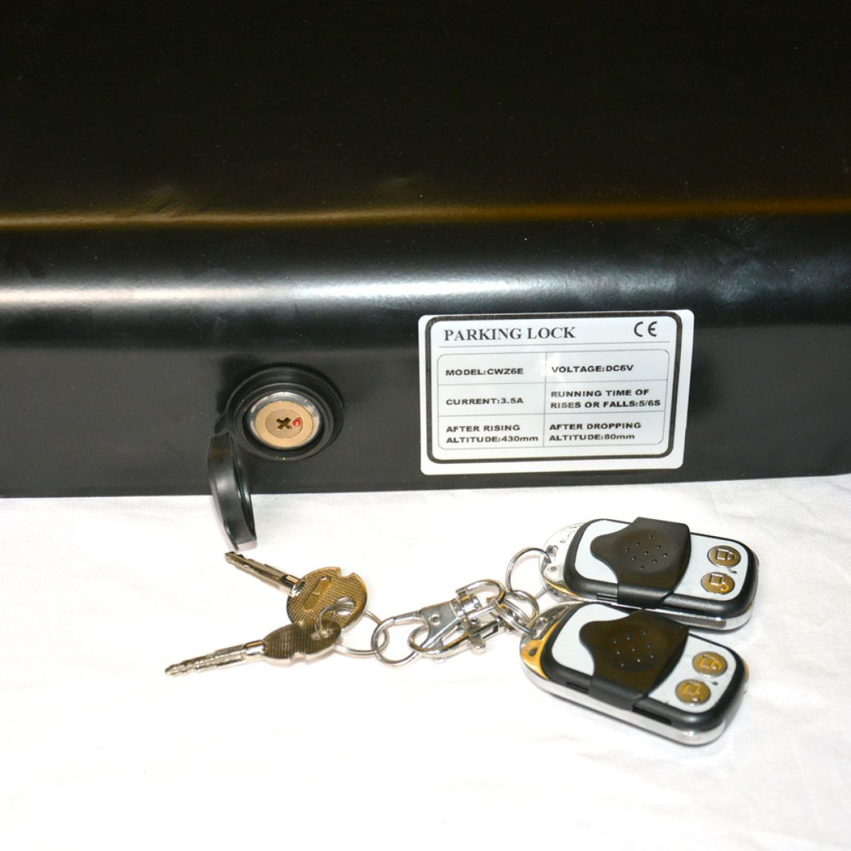 zaun-nagel - parkplatzsperre elektrisch solar + fernbedienung