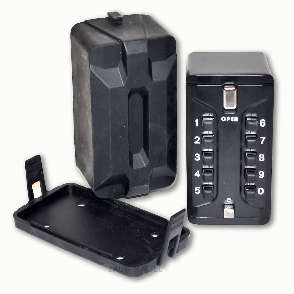 zaun nagel schl sselkasten mit zahlencode f r au enbereich. Black Bedroom Furniture Sets. Home Design Ideas