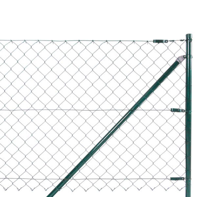 Zaun-Nagel - Strebenset für Gartentür zum Maschendrahtzaun